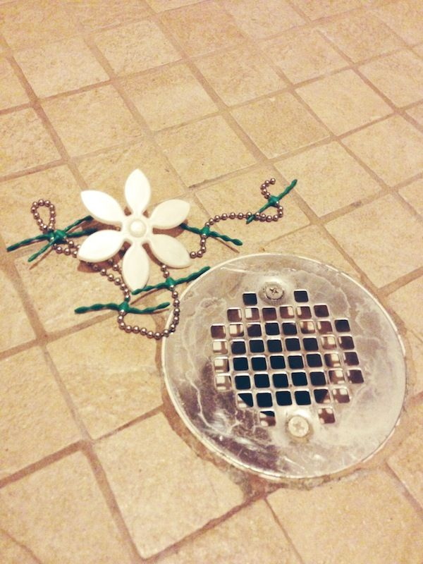 After you unclog your drain, just remember it is the last time you will have to do it. www.drainwig.com