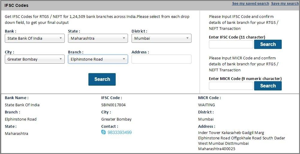 all bihar state bank of india ifsc code branch