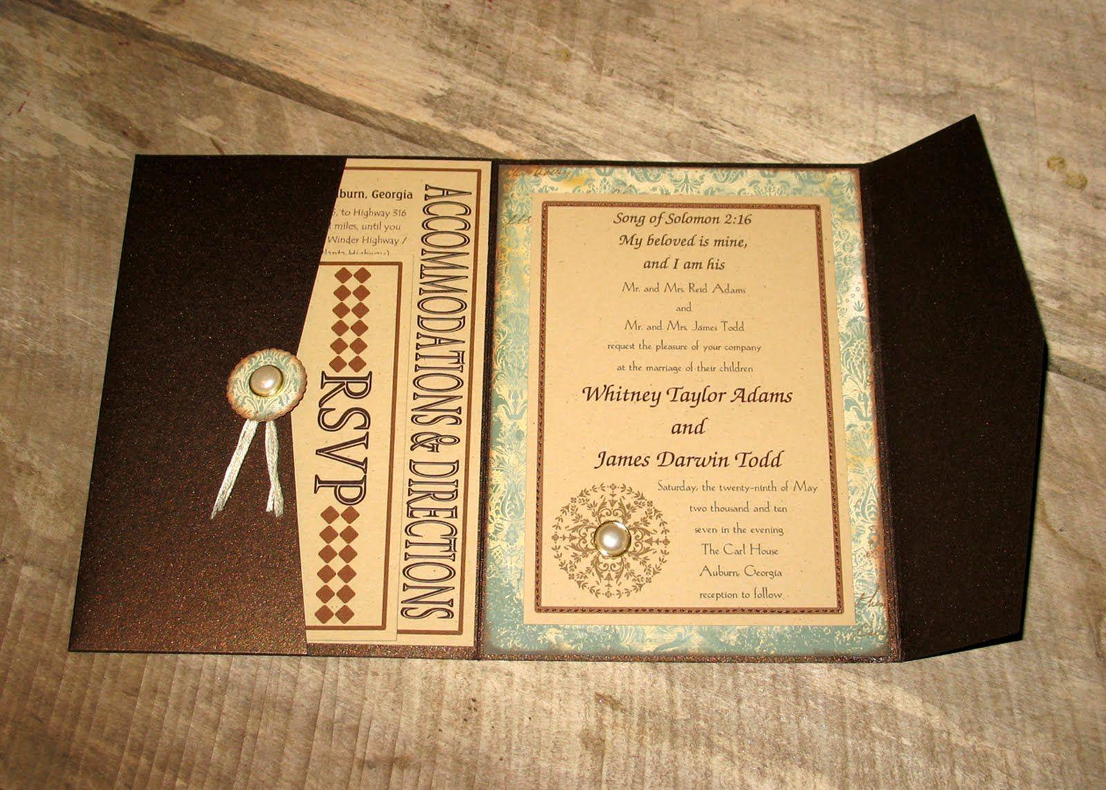 Invite to the Vintage Wedding...