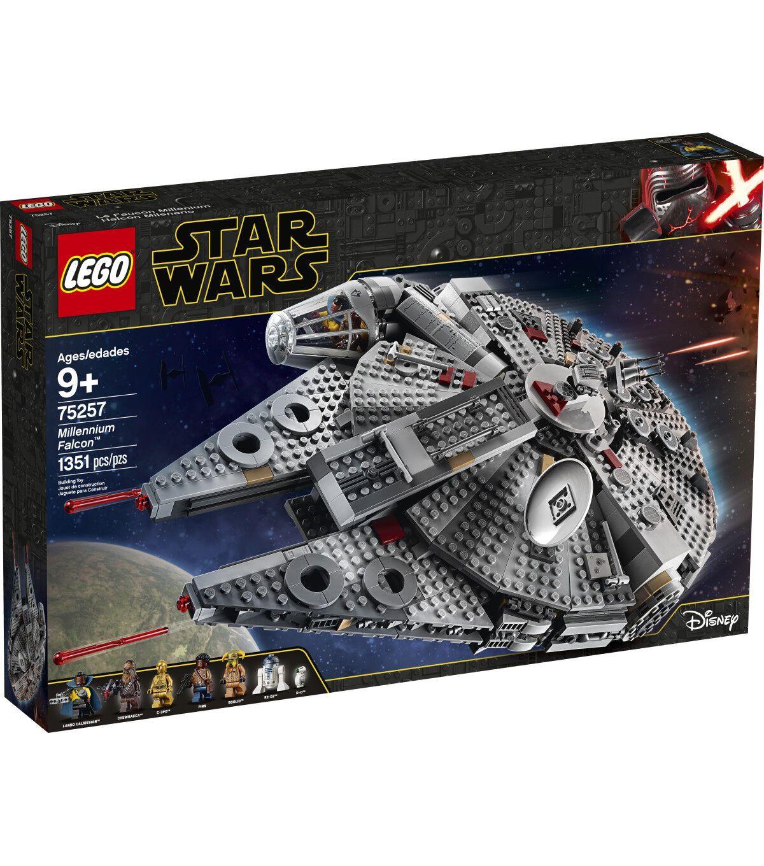 Lego Star Wars Millennium Falcon 75257 Lego Star Wars Lego Star Millennium Falcon