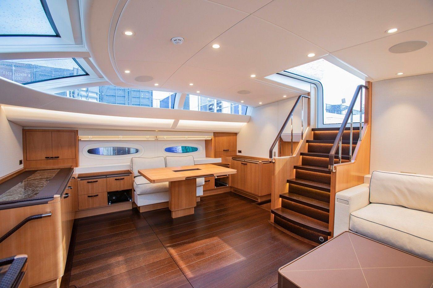 Elena Salon Image Of Elena Beautiful Interiors Modern Yacht