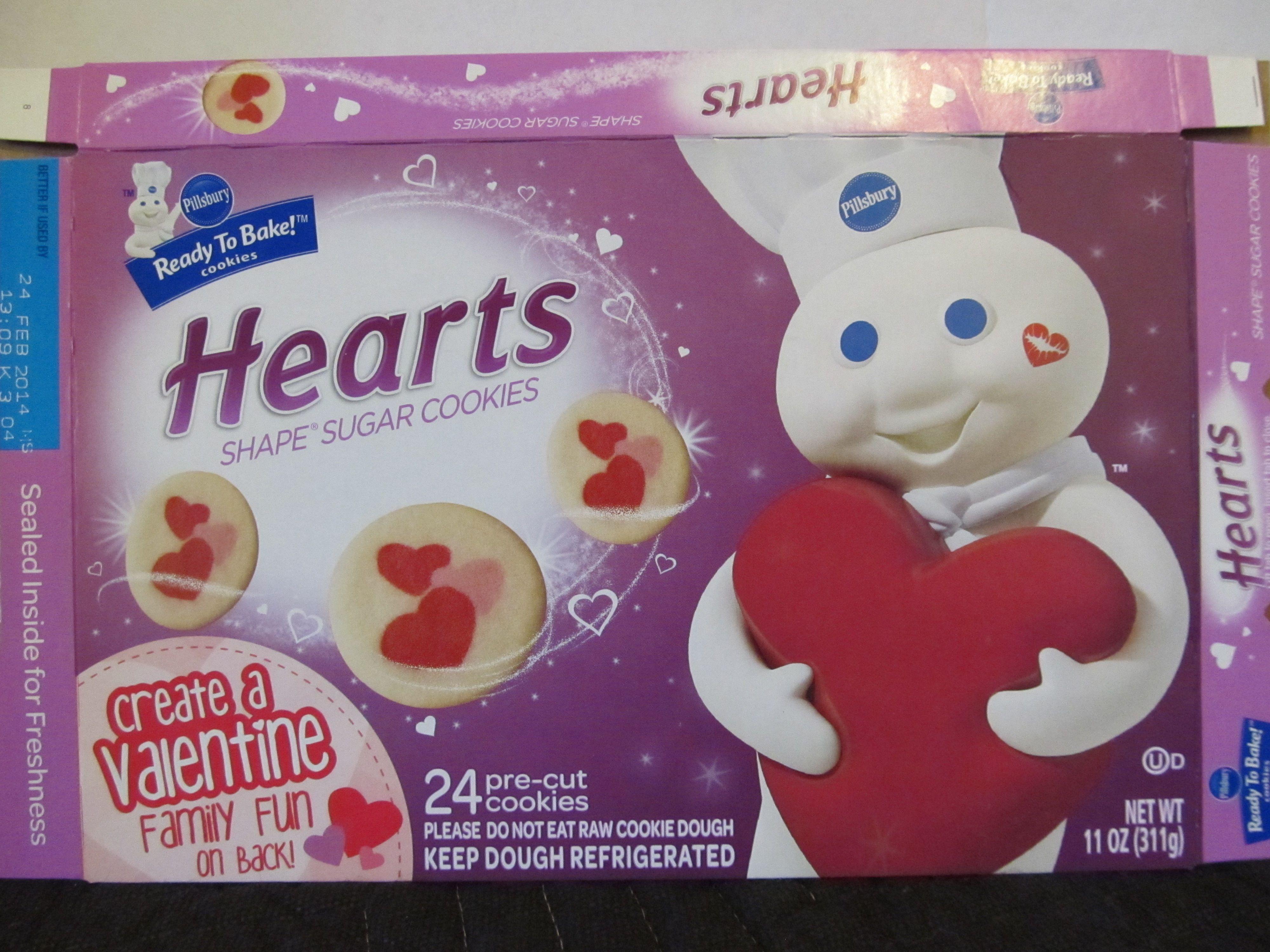 pillsbury valentine cookies