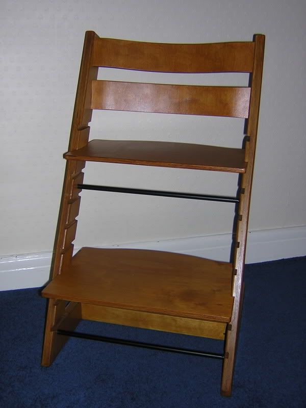 Finished With Images Wooden High Chairs Diy Chair Baby Chair