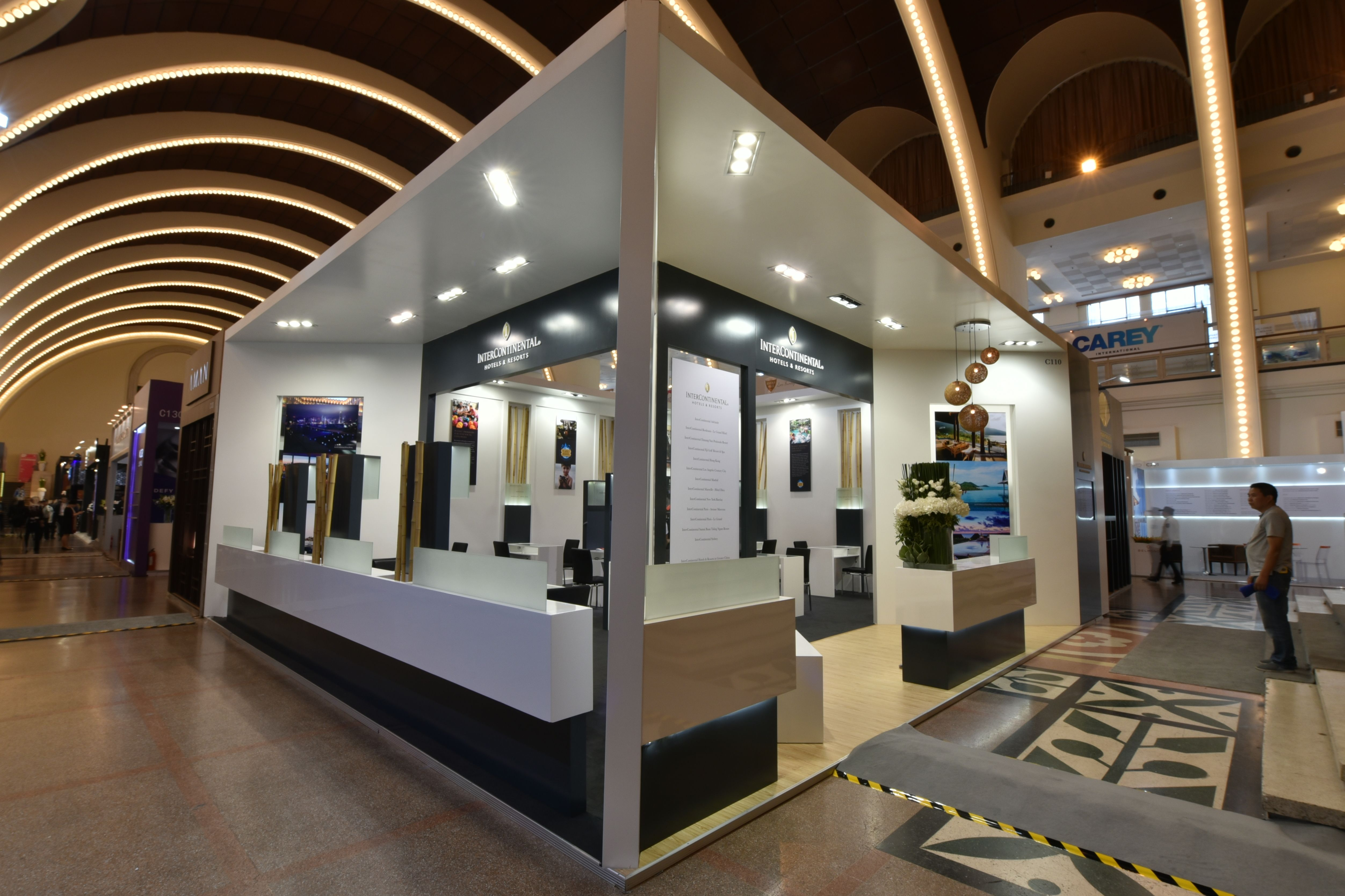 InterContinental Hotels Resorts Stand Design by Elevations UK