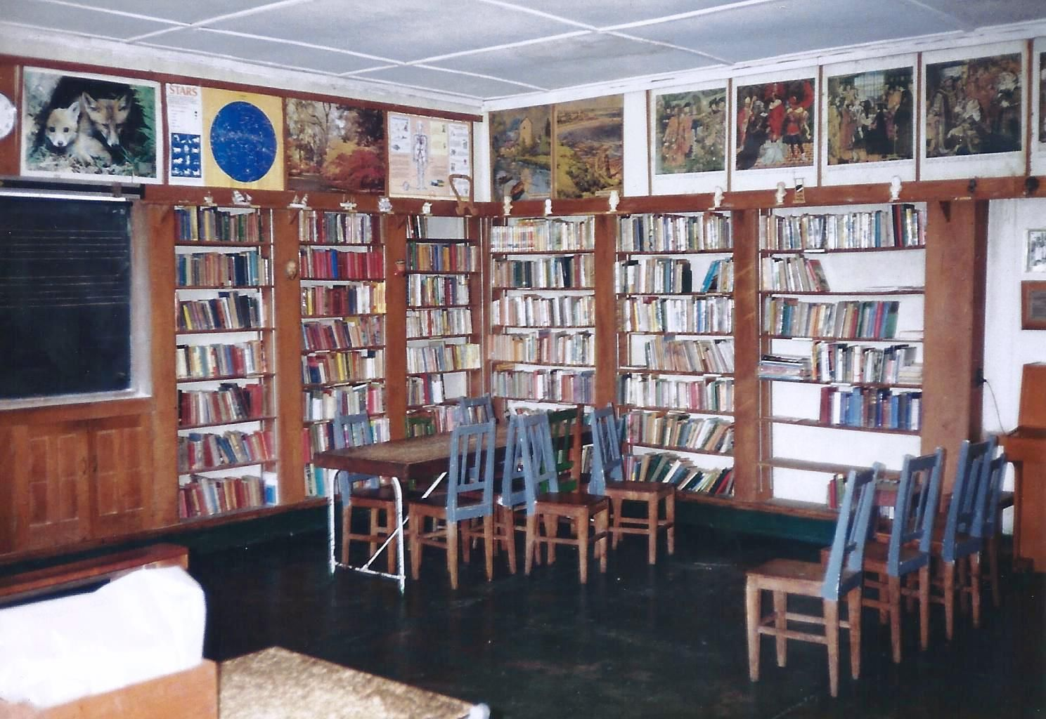 The Library 1993with most of the famous pictures still
