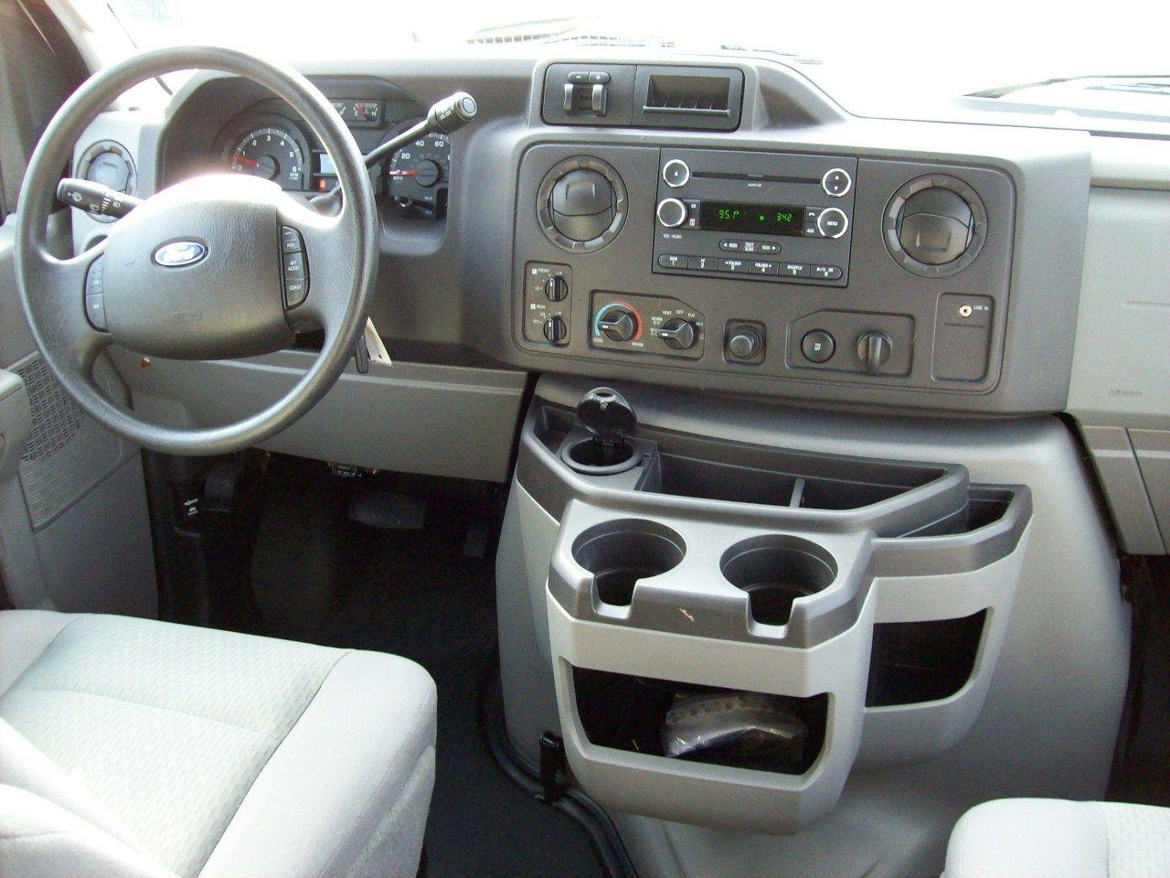 2 X White 2011 Ford E350 Van W Quadvan Conversion Sold 4x4 Van
