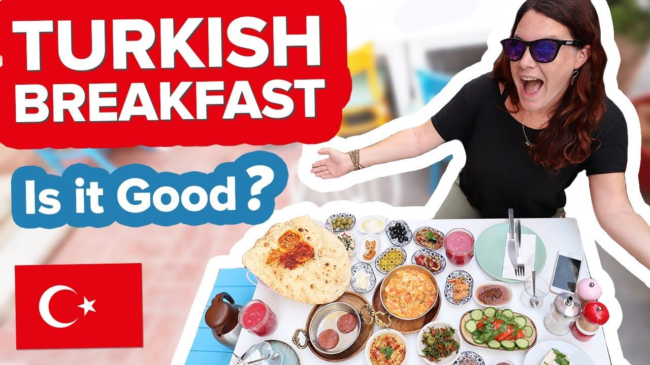 Our First Turkish Breakfast! Istanbul VS Antalya. OMG � What to EAT in Turkey ��
