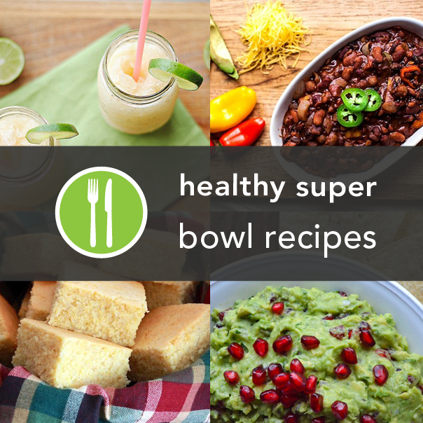 Super Bowl Recipes- 15 Healthier Super Bowl Recipes from Around the Web #SuperBowl #Appetizers #GameDayFood