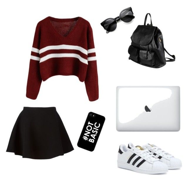 """School Day"" by beatrice-outters on Polyvore"