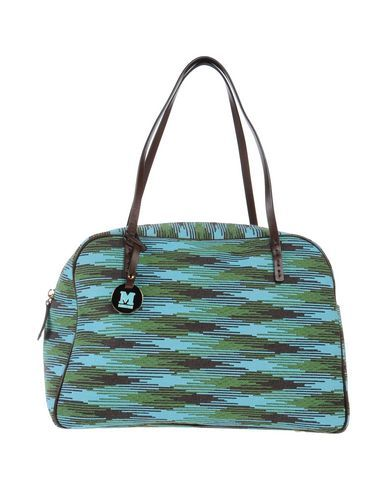 6763cc5337 M MISSONI Handbag.  mmissoni  bags  leather  hand bags  polyester  satchel   cotton
