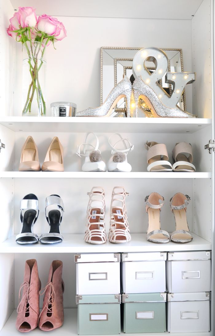 The Truth About My Shoe Closet U0026 How To Organize Shoes