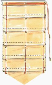 Scegli una tenda parasole se: Bd0999 Stores Bateau Avec Pointe Du Blog De Anne Les Petites Croix En 2019 C Diy Roman Shades Diy Curtains Diy Blinds