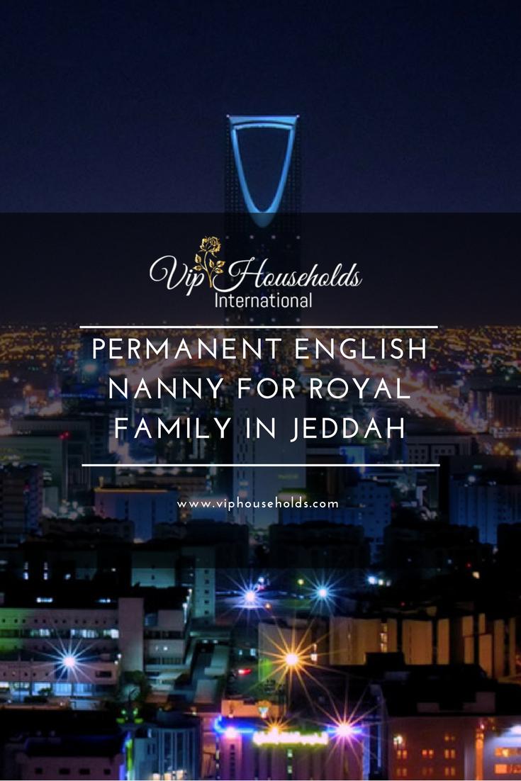 Permanent English Nanny For Royal Family In Jeddah Ksa