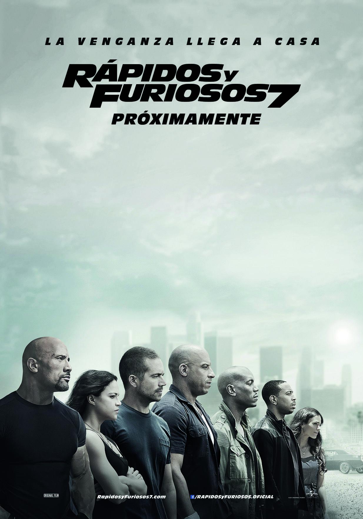 Rapidos Y Furiosos 7 Furious 7 Movie Furious Movie Fast And Furious