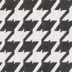 Bohemian 9006 Pewter Grey Houndstooth Upholstery Fabric