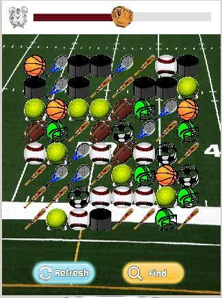 Score!  You've found it- sports paradise for your little players!  Hockey, baseball, football, and tennis all combine to make a field of fun in the Sports Game For Kids Match Race!  Your little sports lover will have a blast playing with balls, helmets, and mitts in this delightful and exciting timed sports match game that's designed for ages 2 & up.<p>The sports game for toddlers free is a timed three round matching game, featuring cool sports icons.  The first round is 100 seconds and each…