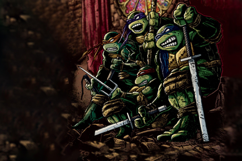 Tmnt Teenage Mutant Ninja Turtles Donatello Leonardo Teenage Mutant Ninja Turtles Michelangelo Comix In 2021 Anime Wallpaper Anime Art Dark Cool Ninja Wallpapers