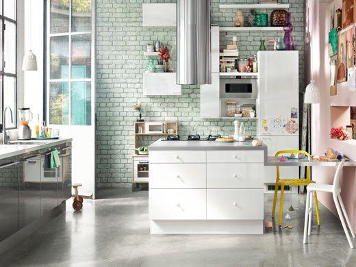 IKEA Kitchen Inspo Architecture Pinterest Küche