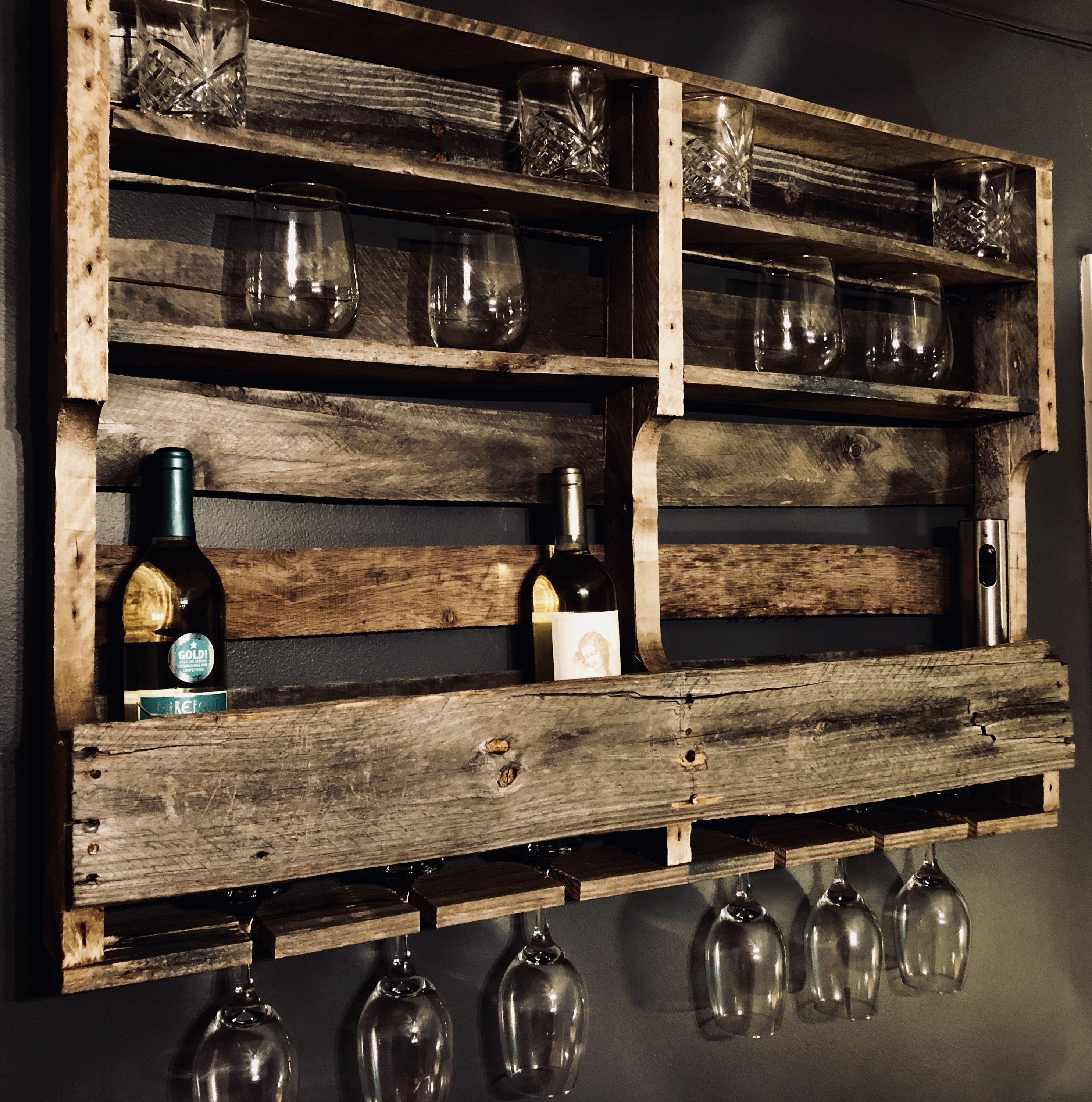 diy pallet wine rack diy projects pallet wine rack diy. Black Bedroom Furniture Sets. Home Design Ideas