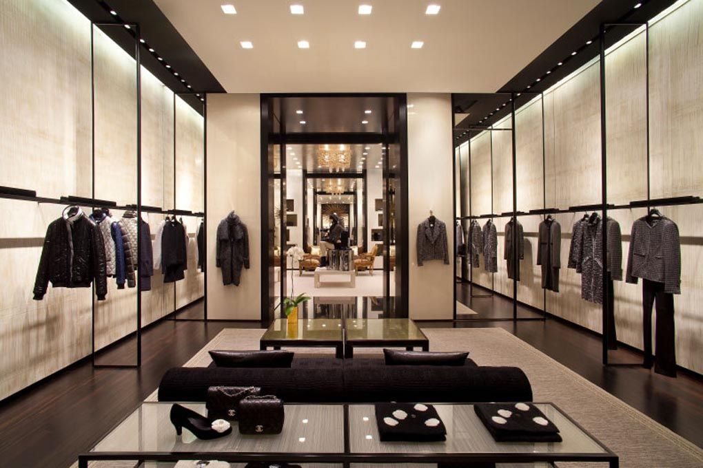 Chanel store interior 17retail chanel peter marino le for Innenraum designer programm
