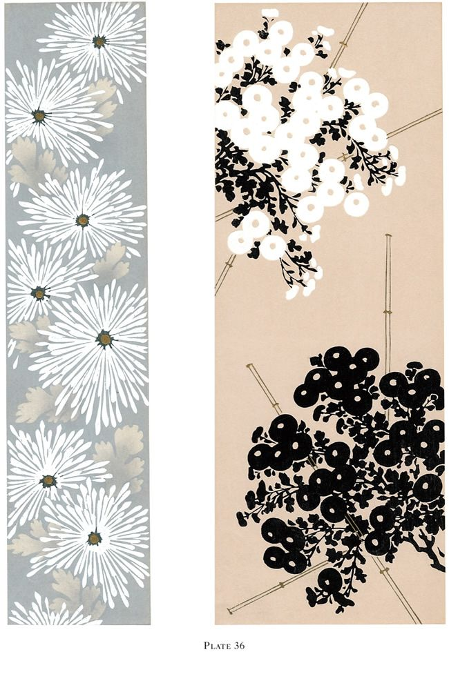 The Chrysanthemum in Japanese Design: 121 Patterns and Motifs By