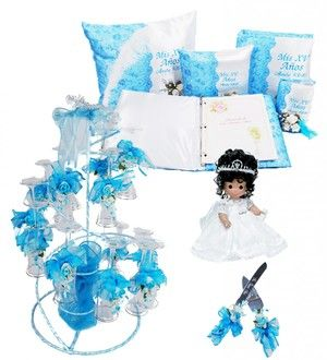 Quinceanera Precious Theme Package #QSP106 #quincetheme #bluetheme #quince #XV #quinceanera #misquince #decoration