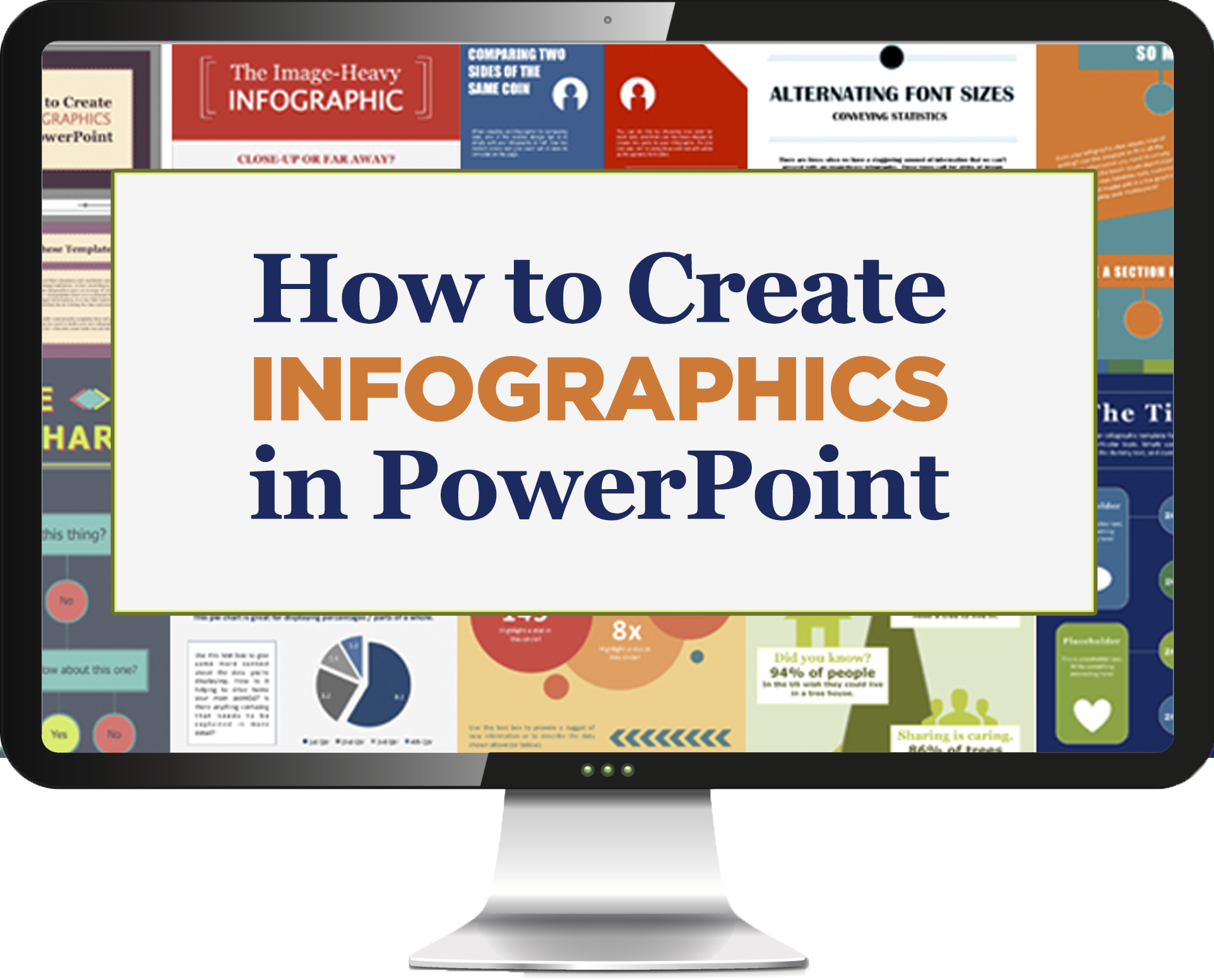 free template]: how to create infographics in powerpoint quickly, Modern powerpoint