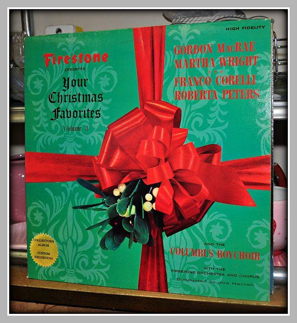FIRESTONE CHRISTMAS ALBUM, 1960'S. Wonderful memories of my ...