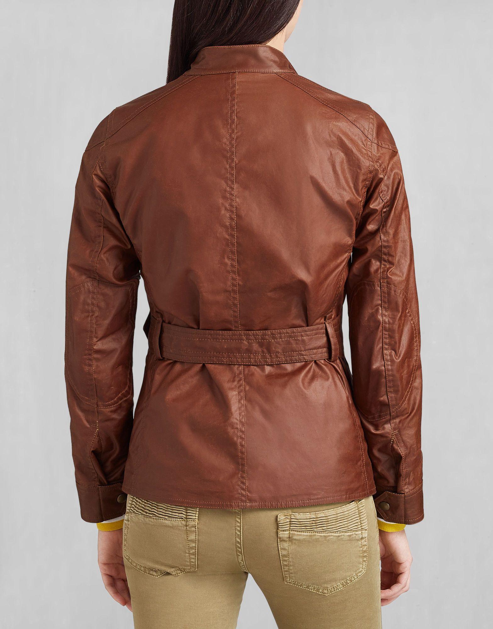 Roadmaster Jacket - Burnt Brown Waxed Cotton Waxed Cotton