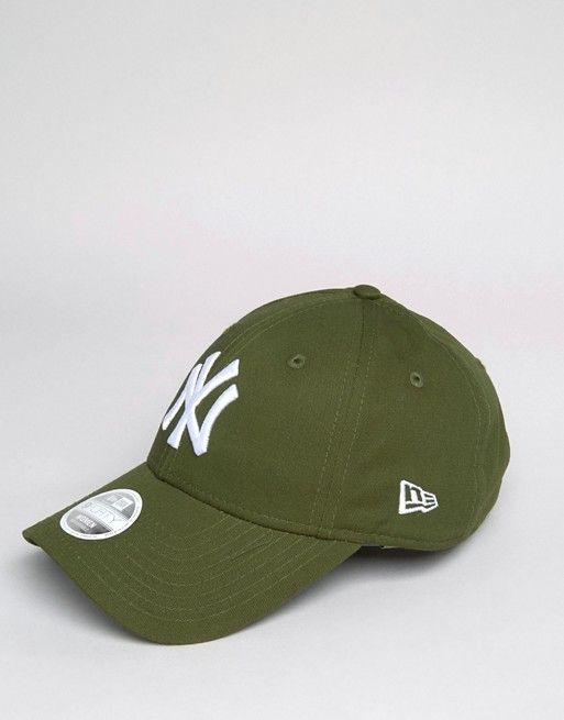 New Era 9 Forty Cap in Khaki Green  f92066f7d76