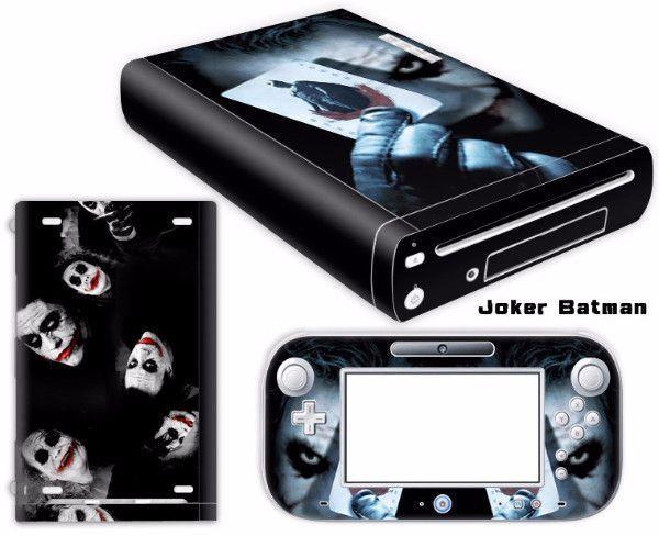 Joker batman Vinyl Skin Sticker Protector for Nintendo Wii U