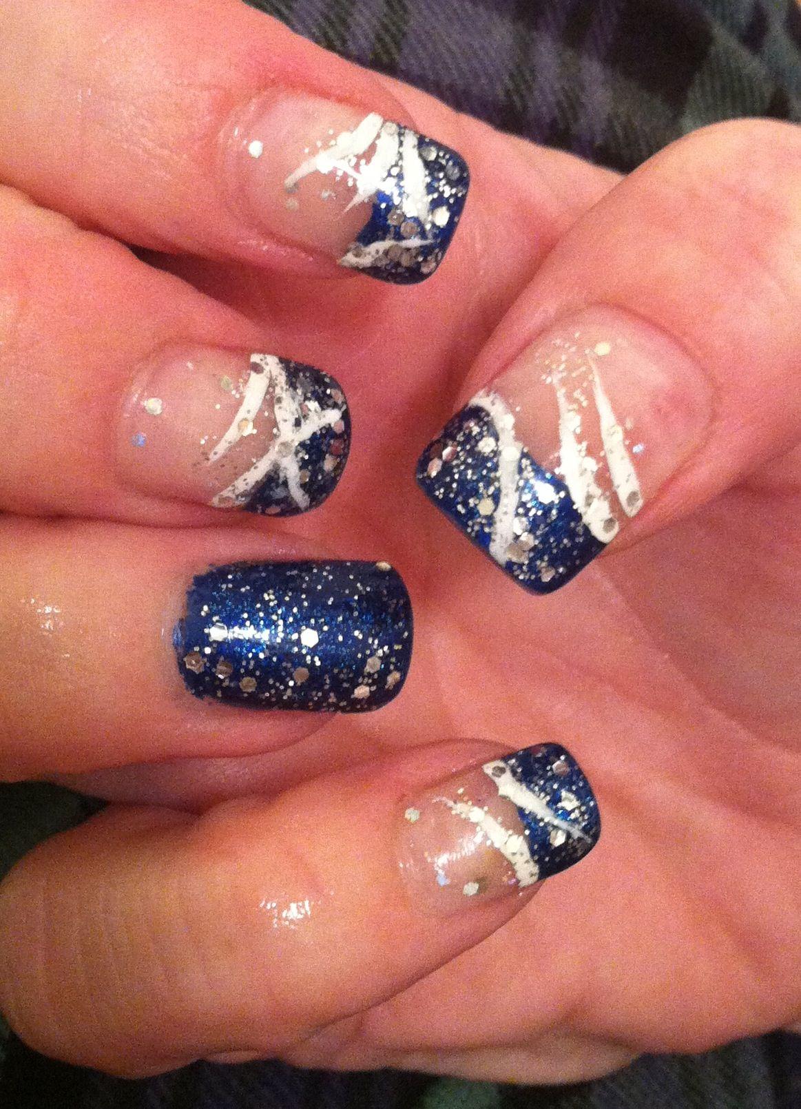 Winter nails fun for holidays | nails | Pinterest