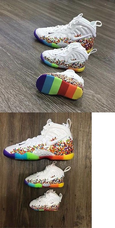 Infant Shoes: Nike Little Cereal Fruity Pebbles Foamposite Baby Toddler  Preschool Size 1C-13C