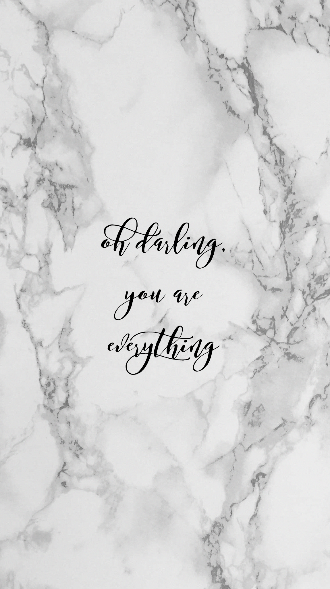 Pretty positivity b w marble quote iphone wallpaperdesignllexxus iphonewallpapertumblr