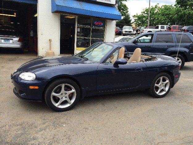 Check out this 2002 Mazda Miata SE Only 125k miles. Guaranteed Credit Approval or the vehicle is free!!! Call us: (203) 730-9296 for an EZ Approval.$6,995.00.