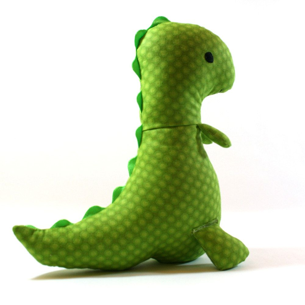 I love this...Stuffed Dinosaur  Plush TRex Doll  Made to by krissyannedesigns, $25.00