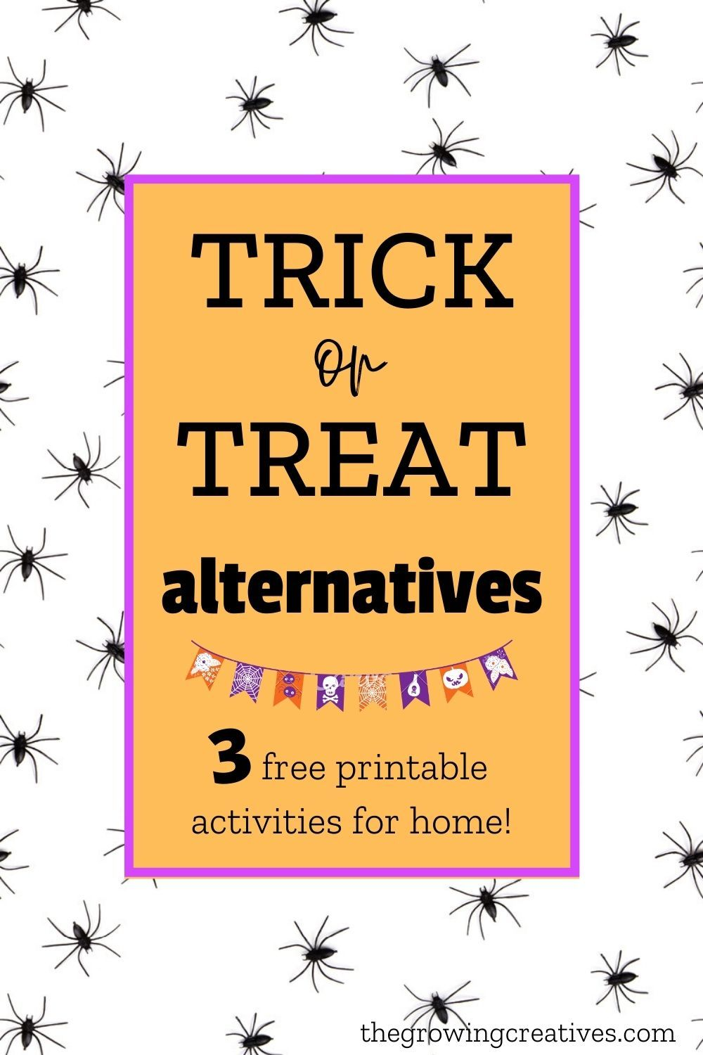 Trick or Treat Alternatives to Do at Home • The Growing