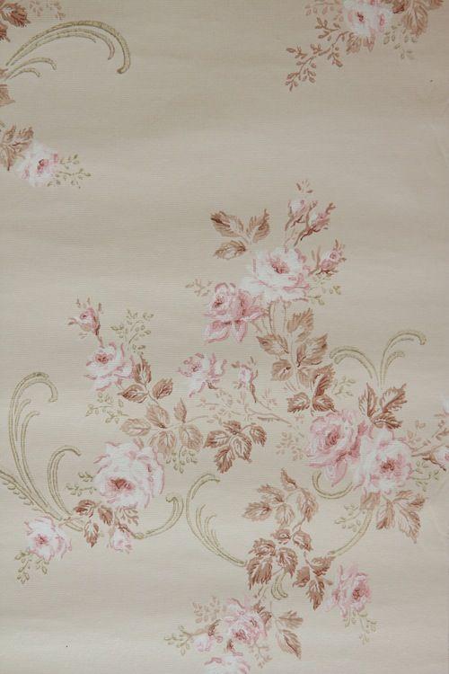 Pink RoseVintage Wallpaper AND 1