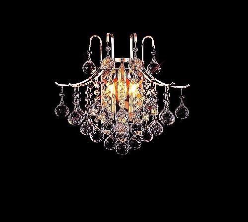 French Art Deco Gilt And Crystal Wall Sconces Crystal Wall Sconces Sconces Fireplace Wall Sconce Lighting