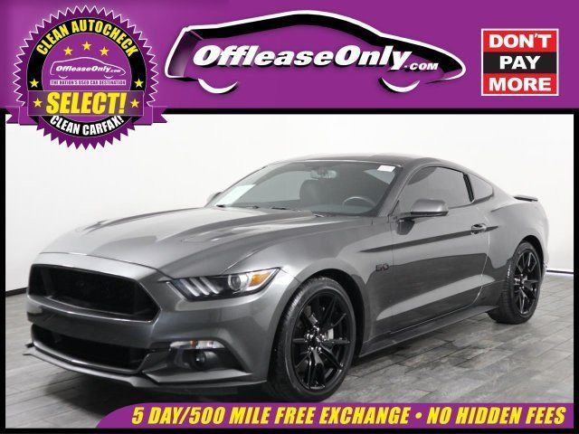 Ebay 2017 Mustang V8 Gt Coupe Fastback Rwd Off Lease Only Ford Premium Unleaded V 8 5