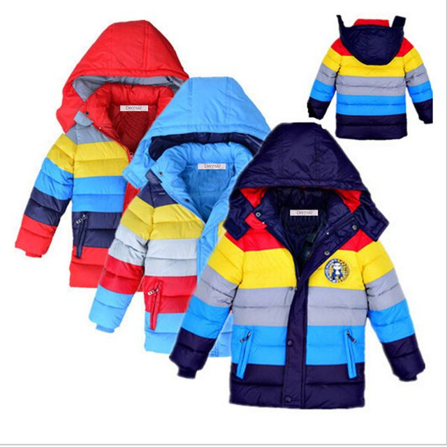 aa6e35d3612b Buy now 3 colors!!! Minion Jacket Kids Down Jacket For Boy Baby ...