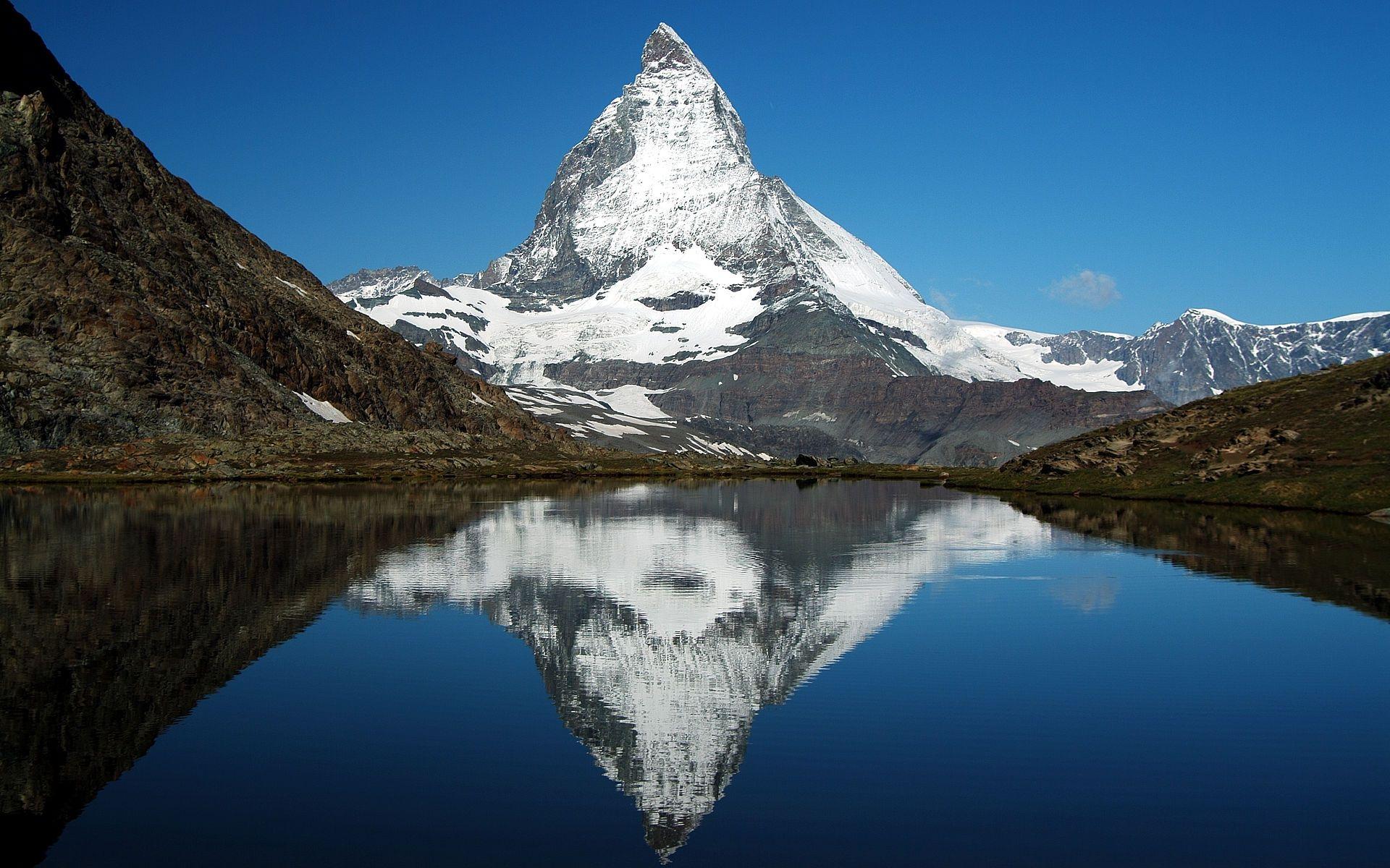 Matterhorn Glacier Paradise Mountains Alps Kilimanjaro Climb