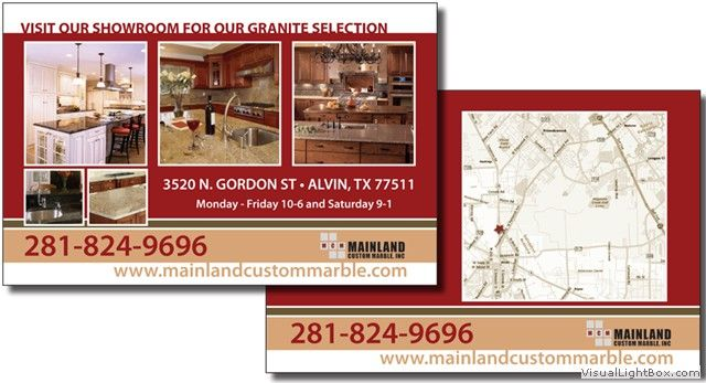 Business Postcard Example 4