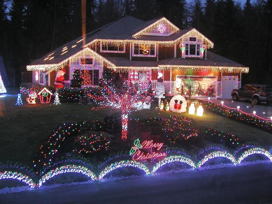 Mind blowing Christmas Lights Ideas for Outdoor Christmas Decorations – Christmas Celebration – All about Christmas