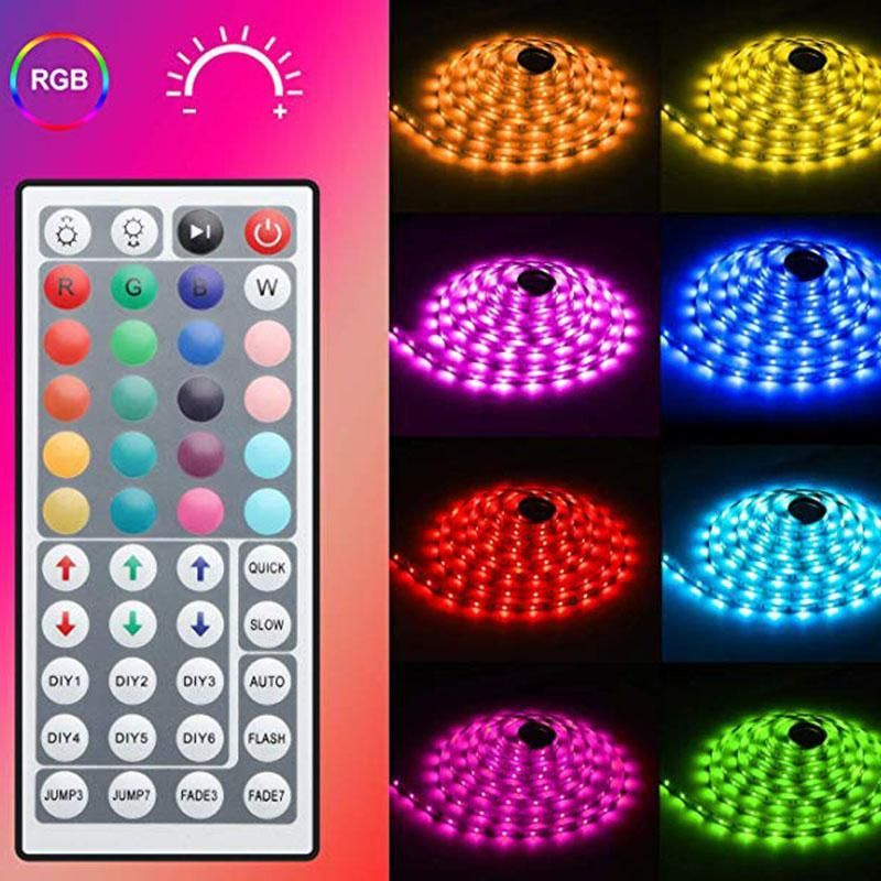 Color Changing With Remote For Home Lighting Kitchen Bed Flexible Led Monyberry In 2020 Led Strip Lighting Led Tape Lighting Color Changing Led
