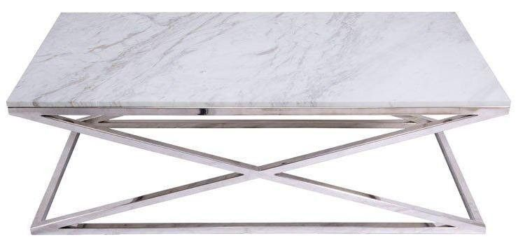 Default title atlanta coffee table with marble only at