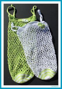 Häkeln Einkaufsnetz Einkaufstasche Häkeltasche Anleitung Diy
