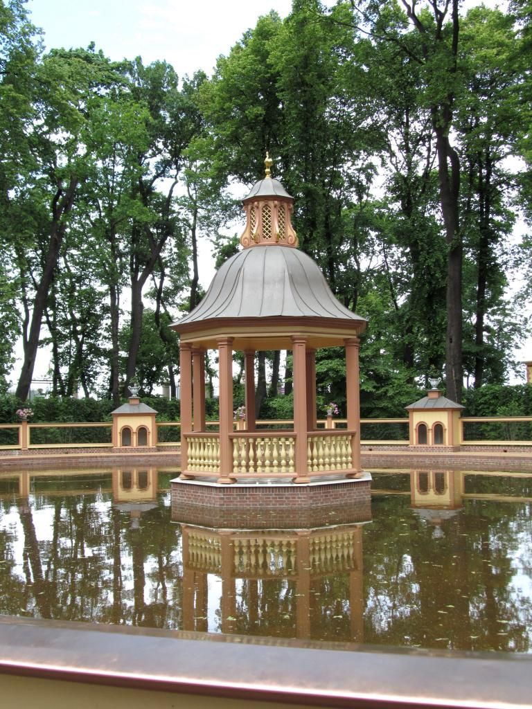 Jardin d'été - Saint Petersbourg - Étang de la Ménagerie. | Điêu khắc