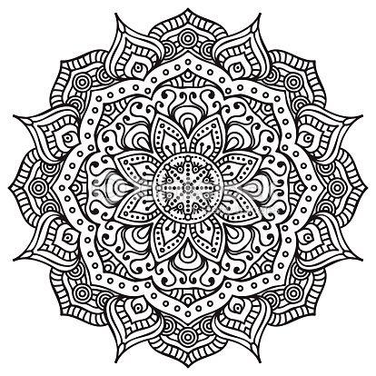 clipart vectoriel mandala recherches bas relief bureau