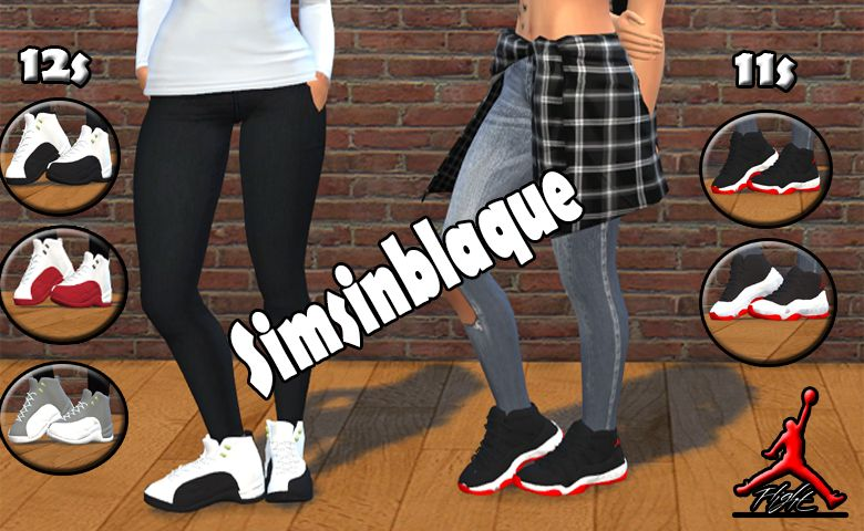 Jordan's for Girls Sims 4
